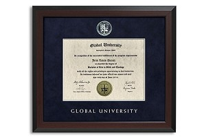 Degree Level Diploma Frame